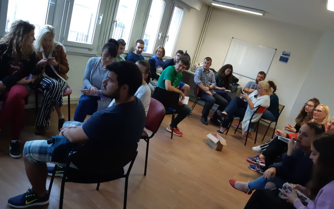 Smart up inclusion a training course for youth workers from 10 European countries